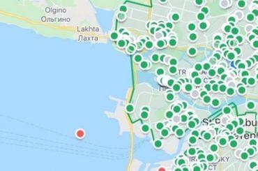 Петербуржцы обнаружили каршеринговый автомобиль вФинском заливе