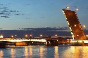 Пять мостов будут разведены вПетербурге вночь напятницу