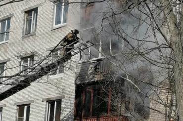 Квартира загорелась наулице Стойкости
