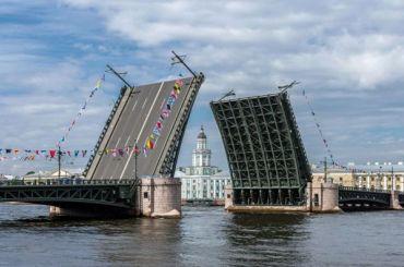 Вночь на30марта вПетербурге разведут четыре моста