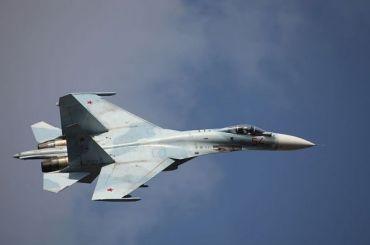 Самолет Минобороны Су-27 упал вЧерном море