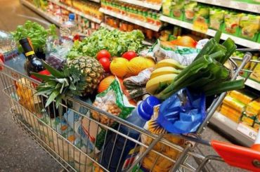 Бизнесмен изСибири похитил корзину товаров из«Магнита»