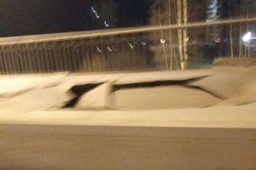 Мост через реку Славянку частично обрушился