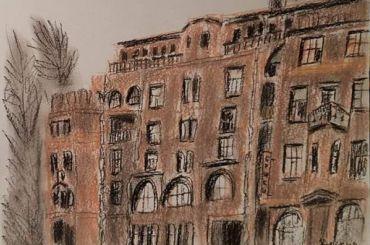Ради спасения дома Басевича начали продавать картины петербургских художников