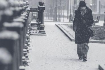 Петербург в воскресенье ожидают похолодание и снег