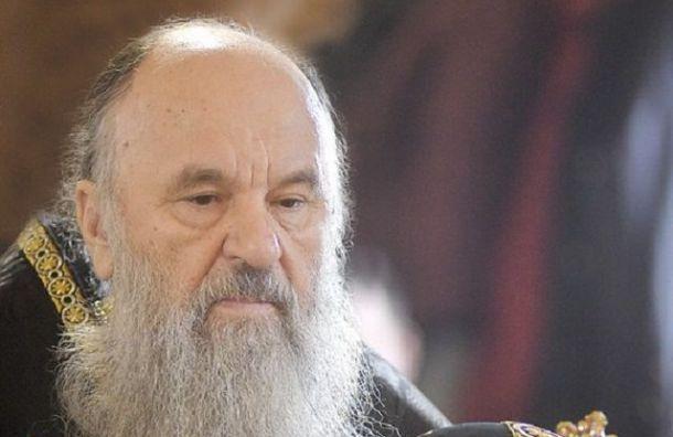 Митрополит Варсонофий пожертвовал Петербургу 3 аппарата ИВЛ