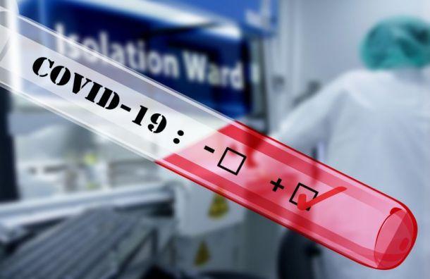 Засутки зарегистрирован 121 случай заражения коронавирусом вПетербурге