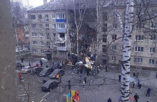 Впятиэтажке Орехово-Зуева взорвался газ