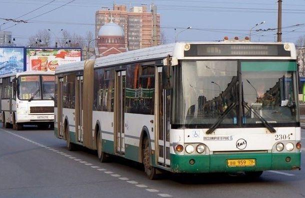 C9апреля вПетербурге усилят движение автобусов