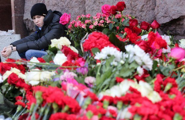 Мемориальную доску установили вметро впамять ожертвах теракта