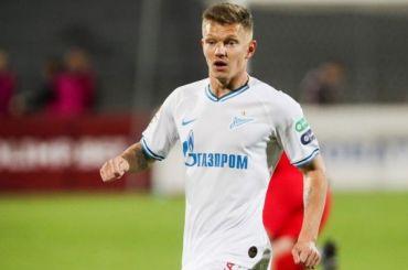 Хавбек «Зенита» Шатов перейдет в«Рубин» поокончании сезона