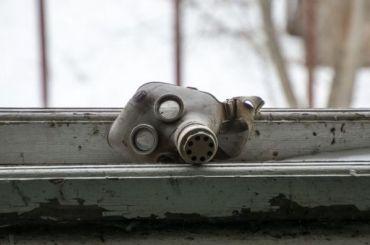 ВЧернобыльской зоне отчуждения пожар