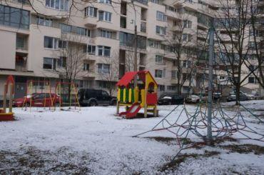 Над Петербургом навис циклонический вихрь