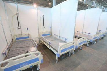 В «Ленэкспо» расширят госпиталь для больных слегкой формой Covid-19