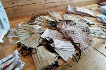 Вкарельских колониях заключенные сшили полмиллиона масок