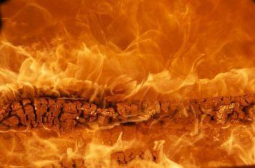 Вовремя строительства новой «коронавирусной» больницы произошёл пожар