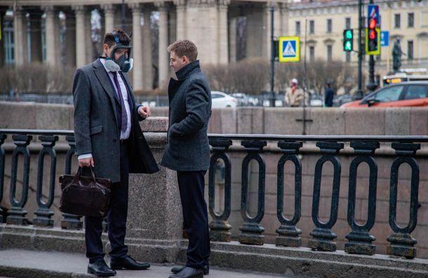 Режим повышенной готовности вПетербурге продлили