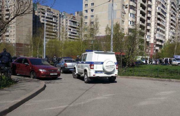 Полиция испецназ обезвредили стрелка вПриморском районе
