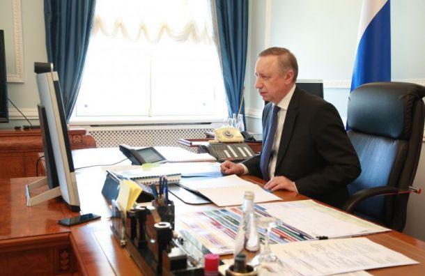 Беглов внес вЗакС новую поправку кзаконопроекту обюджете города