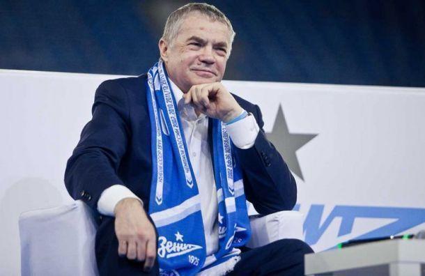 Медведев: «Зенит» теряет 80 млн рублей наиграх без зрителей
