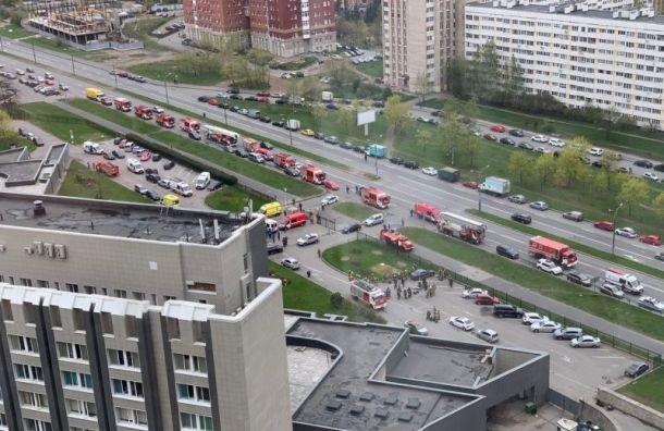 СМИ: пять человек погибли при пожаре вбольнице Святого Великомученика Георгия