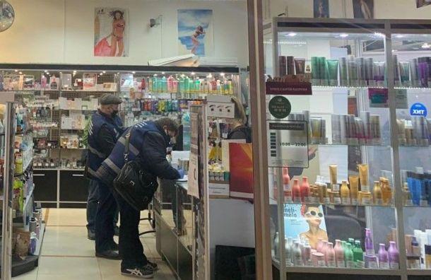 Более 50 работающих магазинов обнаружили вторговых центрах Петербурга