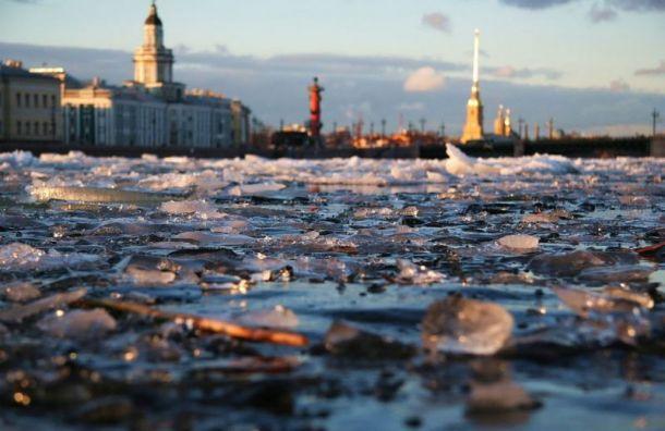 Апрель вПетербурге стал самым холодным запоследние 17 лет