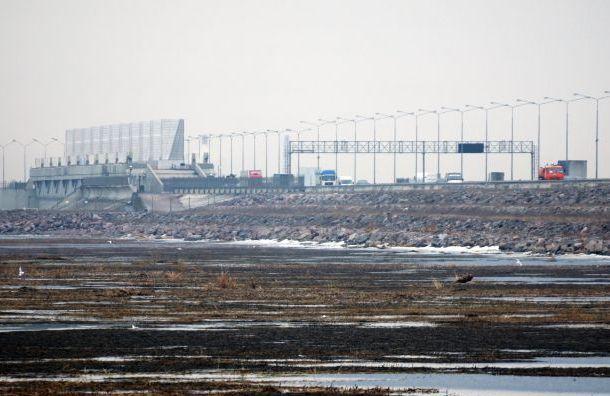 Движение втоннеле дамбы Петербурга ограничат из-за ремонта