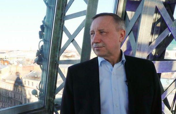 Беглов: ВПетербурге сохраняется режим повышенной готовности