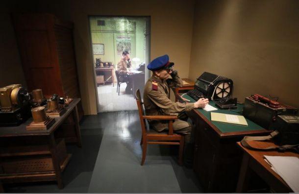 Экспозицию военных времен обновили вбомбоубежище Смольного коДню Победы
