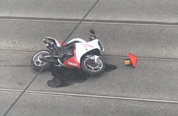 Мотоциклист погиб ваварии наСадовой улице