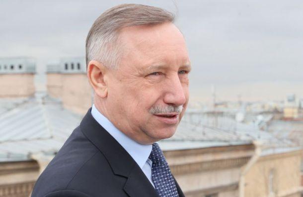 Беглов: «Введение пропускного режима вПетербурге нецелесообразно»