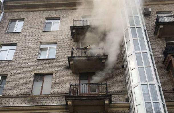 ВПриморском районе вквартире сгорел мужчина