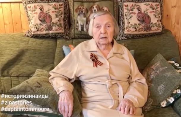 Ветеран изПетербурга собрала напомощь семьям врачей 1,8 млн рублей