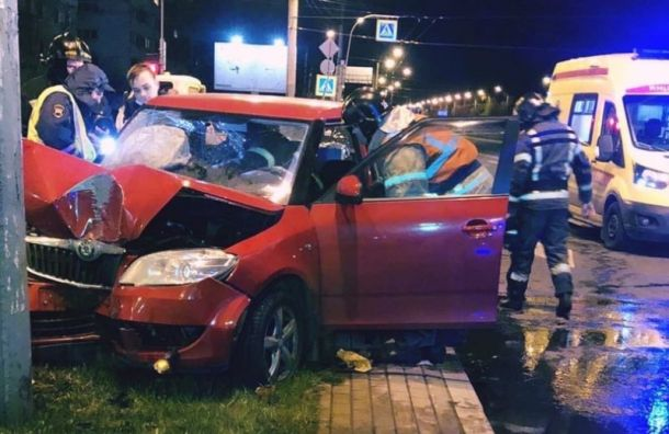 Когда барахлит педаль: два человека пострадали вДТП наСуздальском