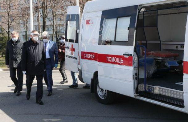 Беглов приехал вЛенэкспо после многочисленных жалоб нагоспиталь