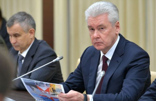 Собянин ввел встолице обязательный масочный режим