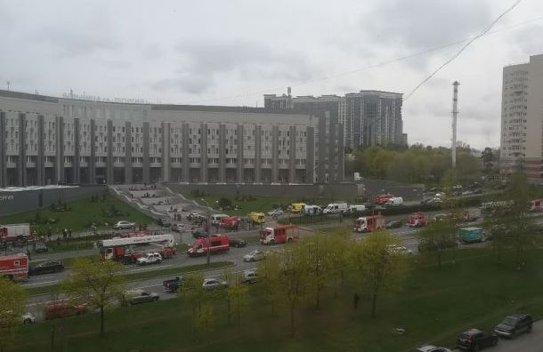 Генпрокуратура взяла под контроль проверку пожара вбольнице Святого Георгия