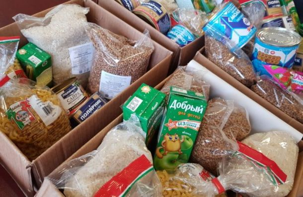 Волонтера «Единой России» вВоронеже уличили впродаже бесплатных продуктов