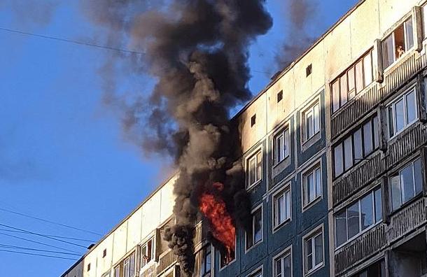 При пожаре наСеверном проспекте погиб известный рэпер