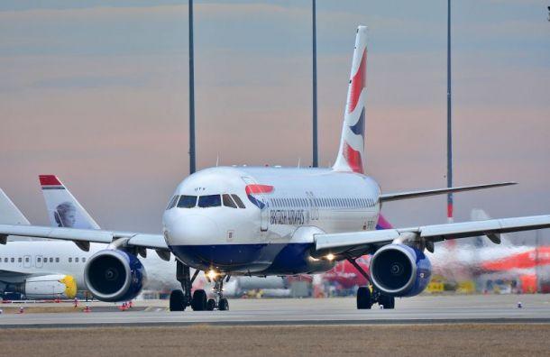 Самолет спассажирами сел вШереметьеве свыбросом пламени