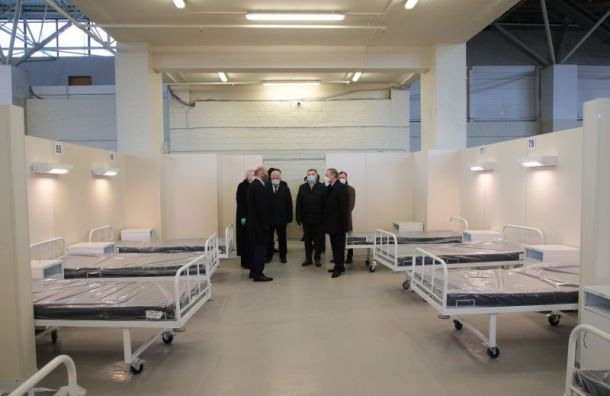 Госпиталь вЛенэкспо расширят на474 койки