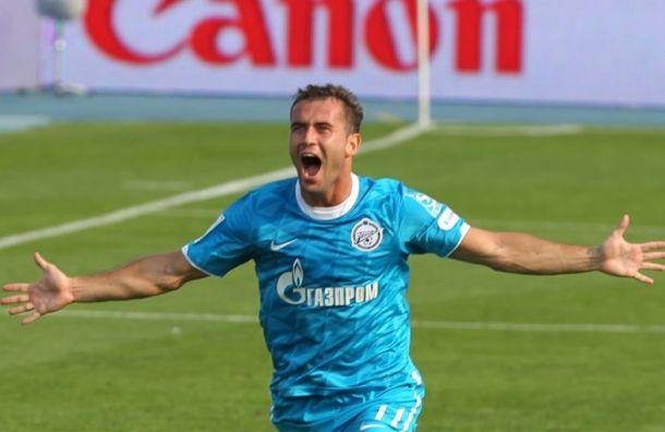 Кержаков пожелал «Зениту» вторую звезду нафутболке к100-летию клуба
