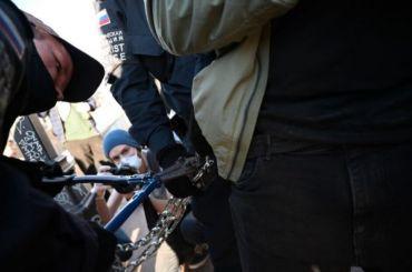 Вишневский сообщил озадержании восьми пикетчиков уГостиного Двора