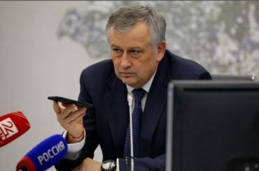 Губернатор Ленобласти Дрозденко переболел коронавирусом