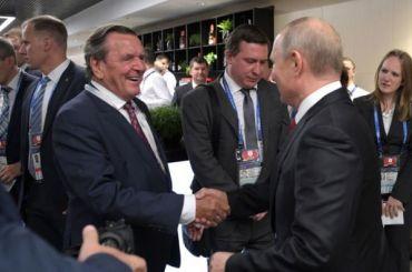 Экс-канцлер Германии призвал снять санкции сРоссии