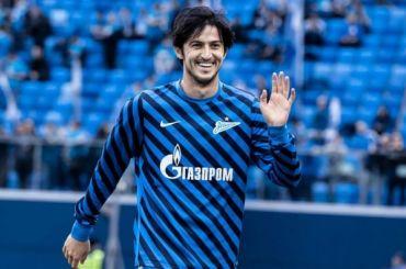 Форвардом «Зенита» Азмуном вслед за«Наполи» заинтересовался «Милан»