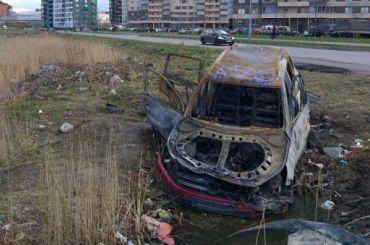 Жители квартала СУН 16 выдали сожженный кроссовер запамятник самоизоляции