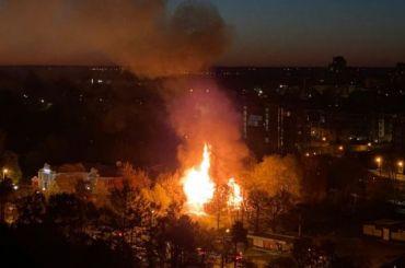 «Проклятый» дом сгорел вСестрорецке
