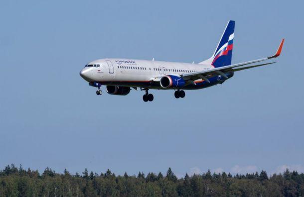 «Аэрофлот» сократил количество рейсов вПетербург наначало июня
